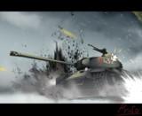弾幕に耐える IS-2