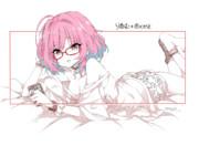 【モバマス】夢見りあむ+メガネ