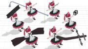 【MMDケムリクサ】りなちゃん用武器小道具セット【アクセサリ配布】