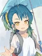 梅雨の福江ちゃん
