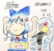 問. ルーミア vs チルノ、喧嘩するとどちらが勝つ?