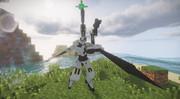 [Minecraft/JointBlock]JBで人型ロボ作ってみた5 「PWS-01」(仮)