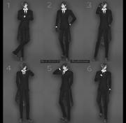 【MMDポーズ配布】 Male poses #1
