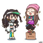あきら&レイナ