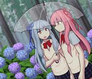 梅雨の姉妹