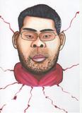 拳銃を奪った容疑の男