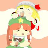美鈴とフランちゃんのタピオカチャレンジ