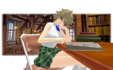 【MMD】「お通、図書館にて」