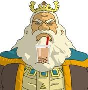 タピオカチャレンジするハイラル王