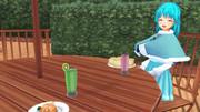 小傘と喫茶店デート