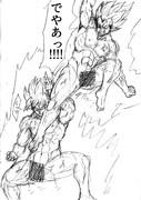 美少女バトルアニメ並に服が破れやすくて全裸で戦うドラゴンボール