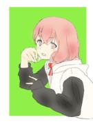 控えめピースな笹木咲