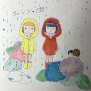 梅雨(?)です!