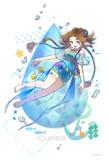 誕生石ドレス 3月のアクアマリン