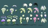 結婚式の花 配布