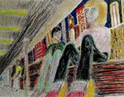 コスモポリタンロッカリアン NYの地下鉄