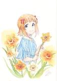 春香ちゃんと水仙