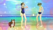 りっちゃんBD~涼ちん・コーギーと海辺で過ごす一日。