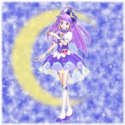 夜空に輝く!神秘の月あかり!キュアセレーネ!