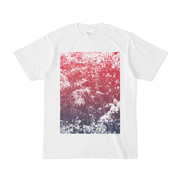 シンプルデザインTシャツ Leaf P-B