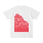 シンプルデザインTシャツ Red Forest