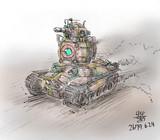 地球連邦陸軍MS支援戦闘MS「チーファー」七九式球戦車