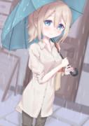 梅雨の青山さん