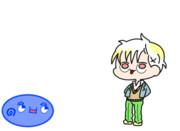 【GIFアニメ】うゆ( ◔ิω◔ิ )