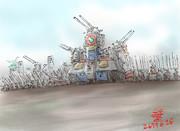 移動要塞型MS「ダブッテシャーナイアン」