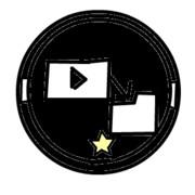 架空バッジ1 [動画投稿 グレード1]