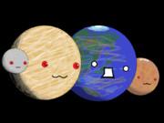 地球型惑星 (◕‿‿◕)