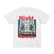 シンプルデザインTシャツ Night Tower