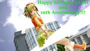 GUMI10周年の誕生日