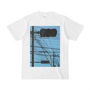 シンプルデザインTシャツ 信号×2