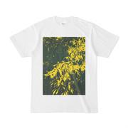 シンプルデザインTシャツ YLeaf1