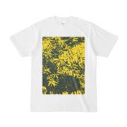 シンプルデザインTシャツ YLeaf2