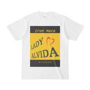 シンプルデザインTシャツ Alvida スイートキッス風