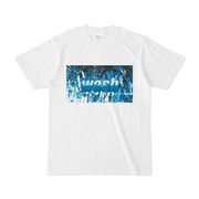 シンプルデザインTシャツ wash
