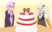 ゆかマキウェディング?ケーキ