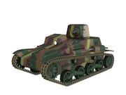 【MMDモデル配布】 九四式軽装甲車 【MMD陸軍】