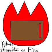 Yukari on Fire