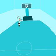 氷河のバスケットボール