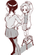 追いつけ追い越せ(東郷あい/龍崎薫)