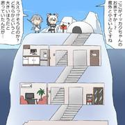 氷山のイッカク