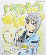 甘くて美味しい梨が手に入ったんだ