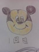 22歳が描く超下手なミッキーマウス