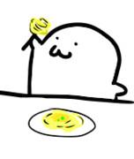 スパゲッティ食べる高澤淳介