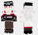 グラーフ・ツェッペリン アズールレーン Minecraft Skin