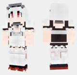 シリウス アズールレーン Minecraft Skin