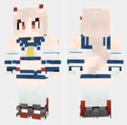 凌波 アズールレーン Minecraft Skin